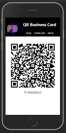 QR virtual Business Card